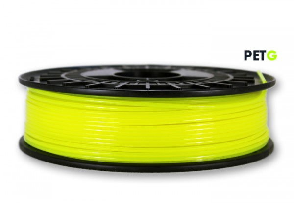 PETG Filament - 2,85 mm - Transl.-Neongelb