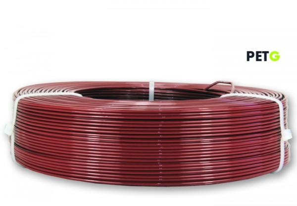 PETG Filament - 1,75 mm - Rubinrot - Refill 850 g