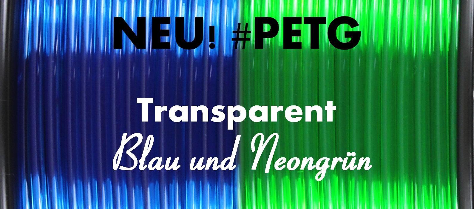 Neue PETG Farben
