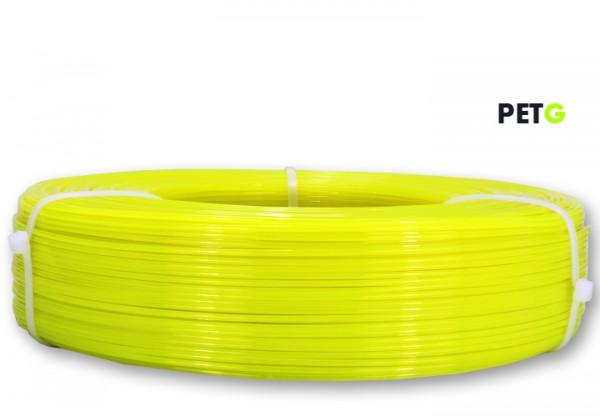 PETG Filament - 1,75 mm - Transluzent Neongelb - Refill 850 g