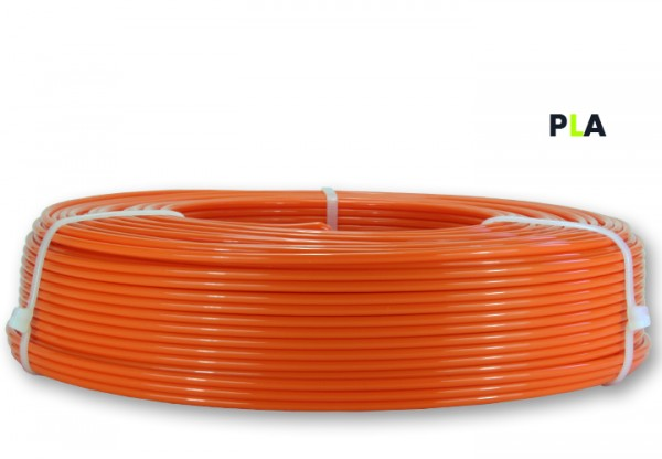PLA Filament - 2,85 mm - Reinorange- Refill 800 g