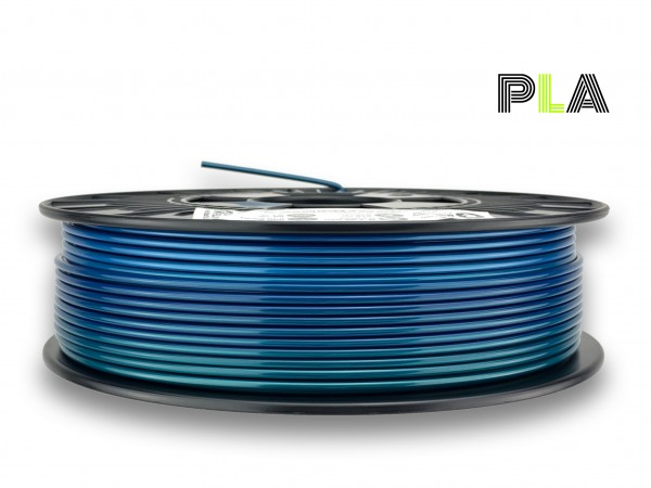 PLA Filament - 2,85mm - Multicolor Polarlicht