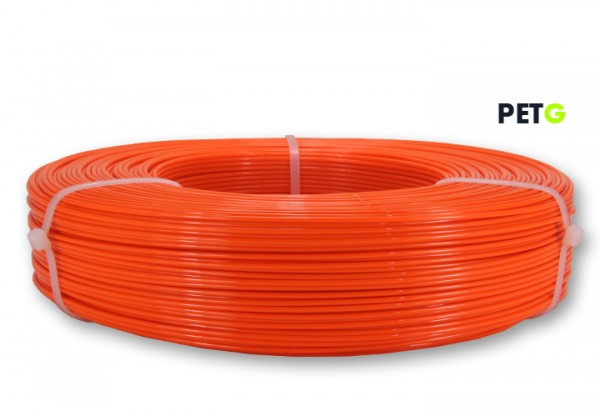 PETG Filament - 1,75 mm - Leuchtorange - Refill 850 g