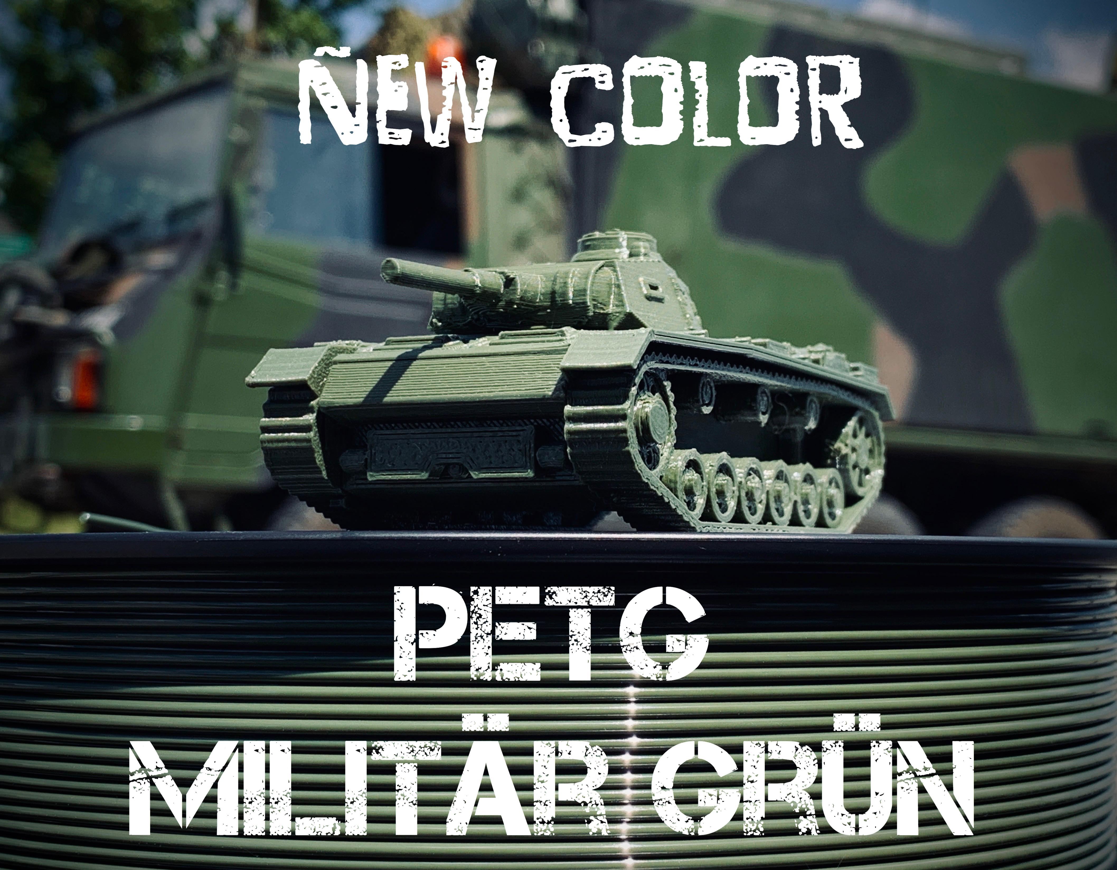 Für die Militärs unter uns: PETG Militär-Grün