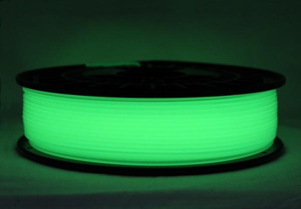 PLA Filament - 2,85mm - Glow-Grün