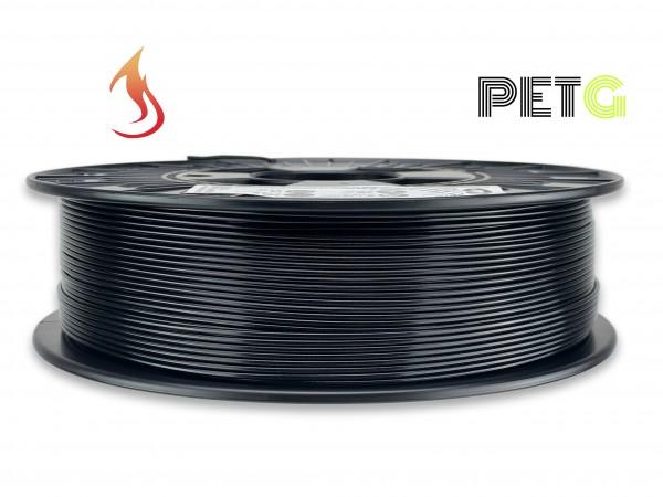 PETG Filament - 1,75 mm - Flammschutz Schwarz
