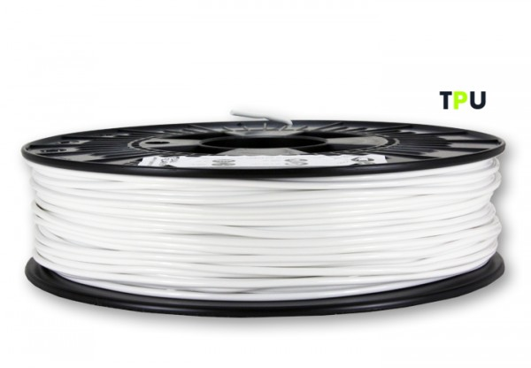 TPU V2 Filament (flexibel) - 2,85 mm - Weiß