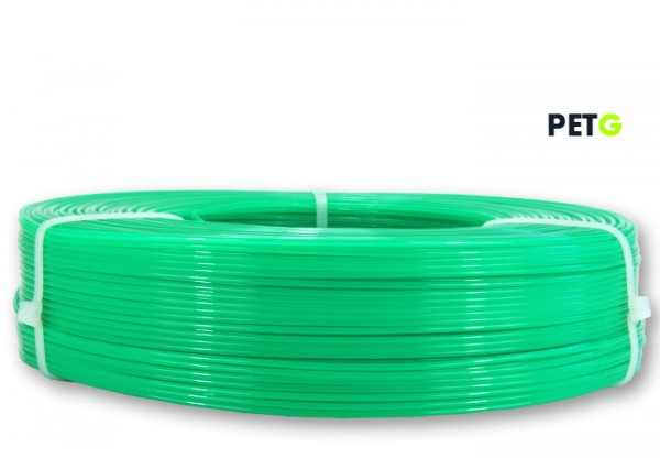 PETG Filament - 1,75 mm - Transl. Wassergrün - Refill 850 g