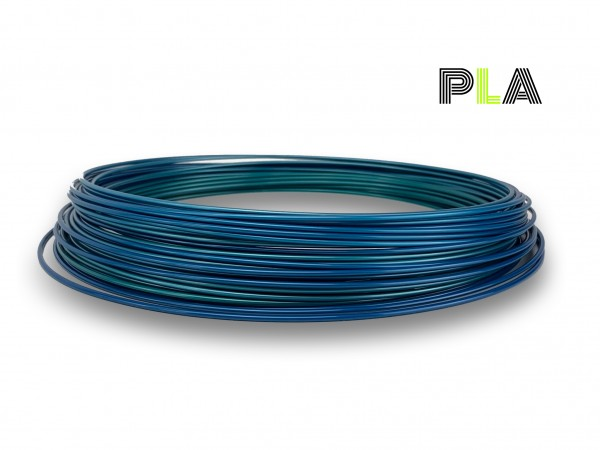 PLA Filament 50g Sample - 1,75mm - Multicolor Polarlicht