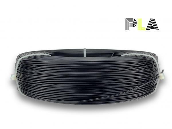 PLA Filament - 1,75 mm - Schwarz matt - Refill 850 g