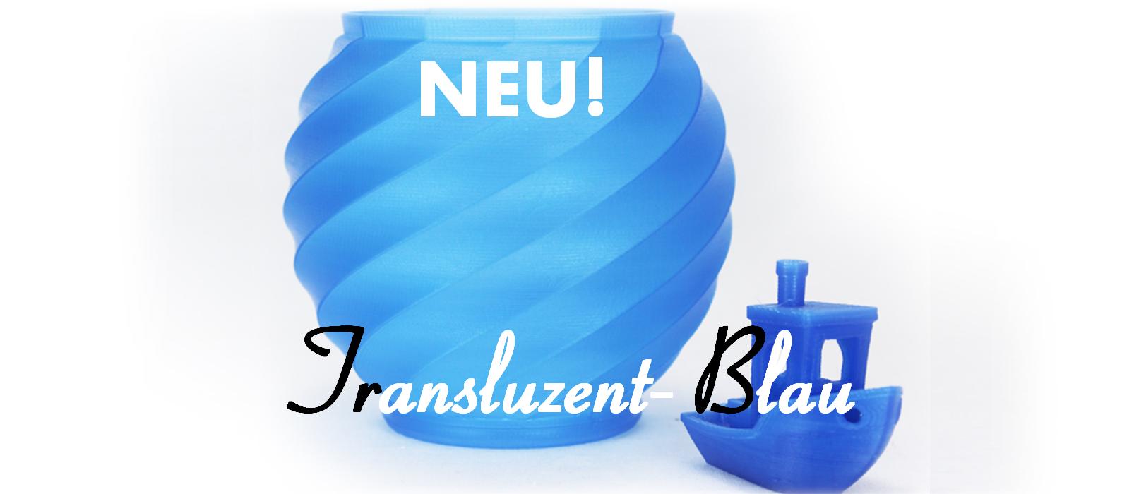 Neuer Farbton - Transluzent-Blau