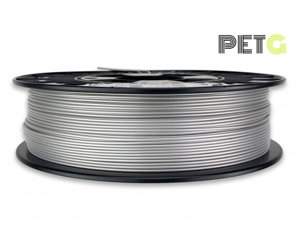 PETG Filament - 1,75 mm - Alu-Silber