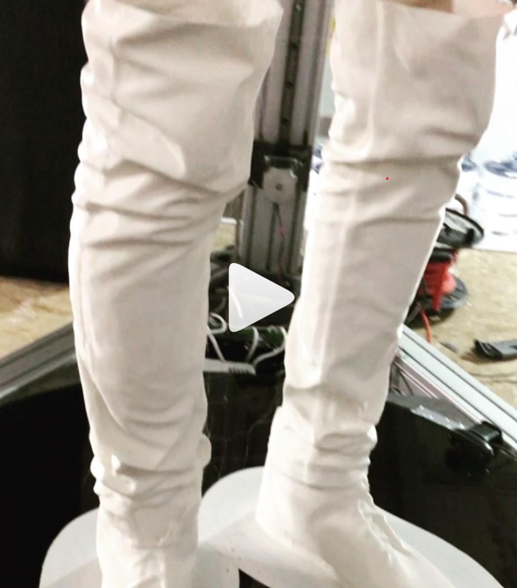 Lebensgroße 3D Drucke: Die Beine sind fast fertig =)