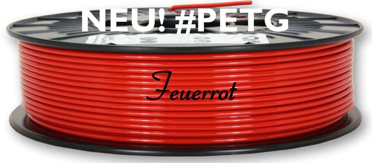 NEU! PETG Feuerrot