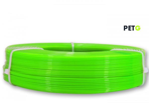 PETG Filament - 1,75 mm - Transl. Neongrün - Refill 850 g