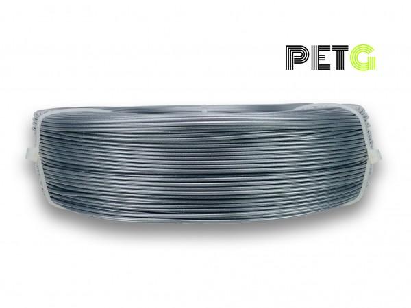 PETG Filament - 1,75 mm - Silber - Refill 850 g