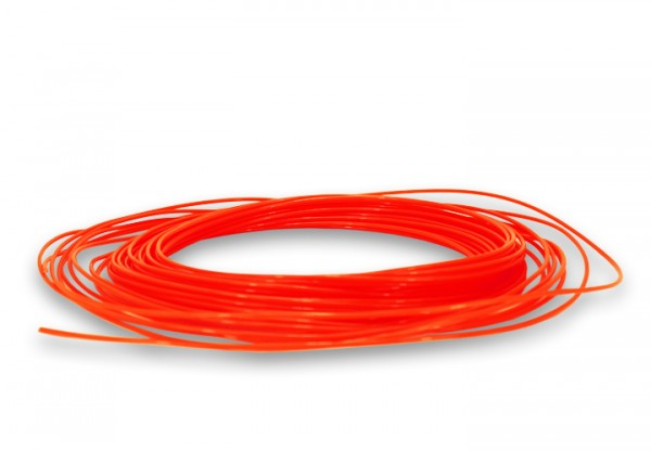 PLA Filament 50g Sample - 2,85mm - Neonorange