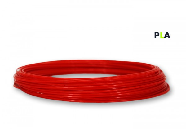 PLA Filament 50g Sample - 2,85mm - Feuerrot