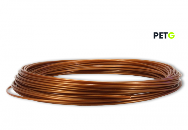 PETG Filament 50g Sample - 1,75mm - Burnt Copper