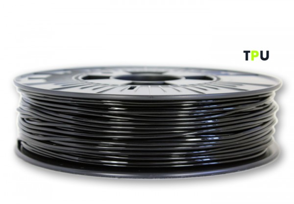 TPU V2 Filament (flexibel) - 2,85 mm - Schwarz