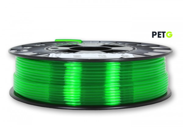 PETG Filament - 2,85 mm - Transparent Neongrün