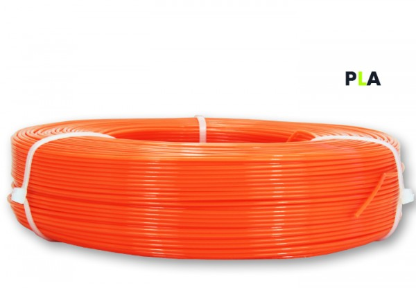 PLA Filament - 1,75 mm - Neonorange- Refill 800 g