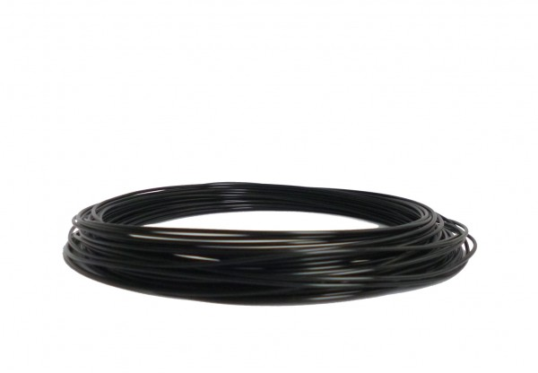 PLA Filament 50g Sample - 1,75mm - Schwarz
