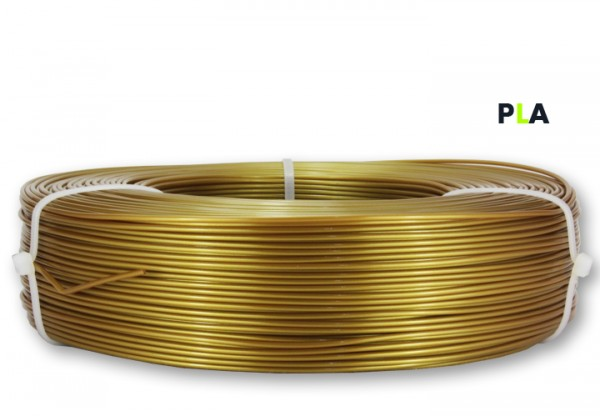 PLA Filament - 1,75 mm -Gold - Refill 850 g