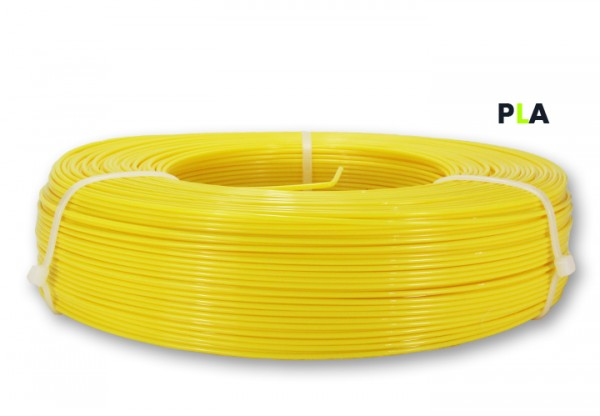 PLA Filament - 1,75 mm - Sonnengelb - Refill 850 g