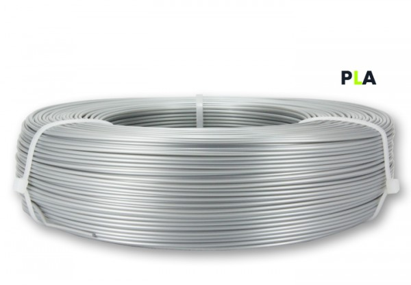 PLA Filament - 1,75 mm - Silber - Refill 800 g