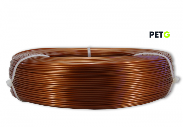 PETG Filament - 1,75 mm - Burnt Copper - Refill 850 g