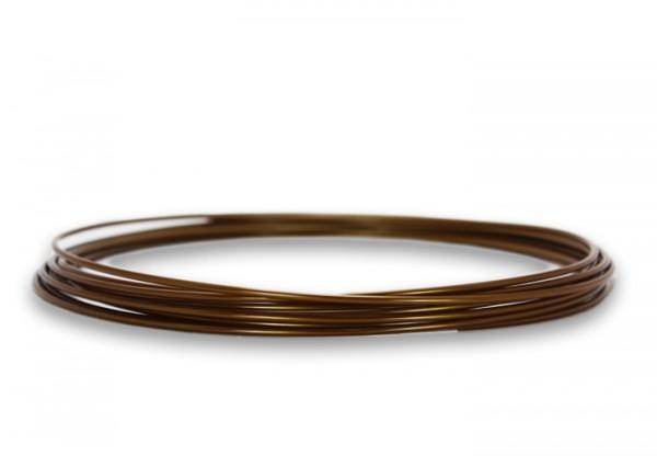 PLA Filament 50 g Sample - 2,85 mm - Bronze
